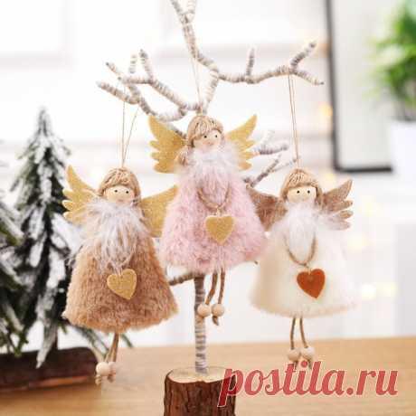 Рождественские куклы-ангелы Большой выбор, 44 варианта игрушек ===========================  11.11 близко, кидайте товары в корзину, чтобы получить скидки до 70% в дни распродажи