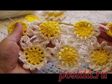 Continuous knitting of motives (video) \/ my creativity - knitting