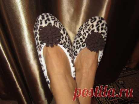 M A (con el patrón) por la costura de las zapatillas - baletok de flisa, velsofta. - de casa sapozhki por las manos del patrón - la anotación del usuario Lenochka Uspensky (las ZAPATILLAS-ZAYKI) (Kbpjxrf) en la comunidad la Costura en la categoría las Clases maestras - Babyblog.ru