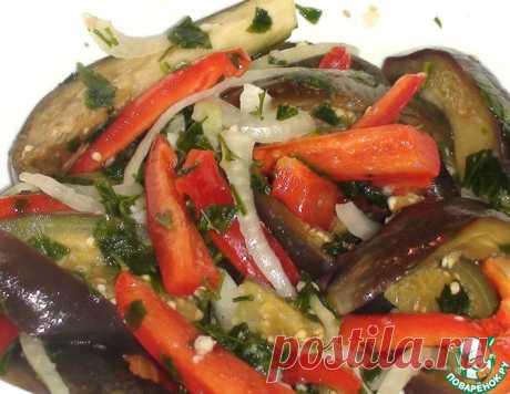 Маринованные баклажаны за 20 минут – кулинарный рецепт