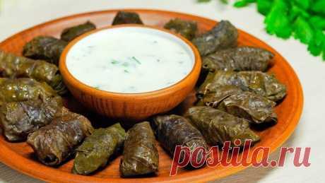 АЗЕРБАЙДЖАНСКАЯ КУХНЯ Как приготовить азербайджанскую ДОЛМА