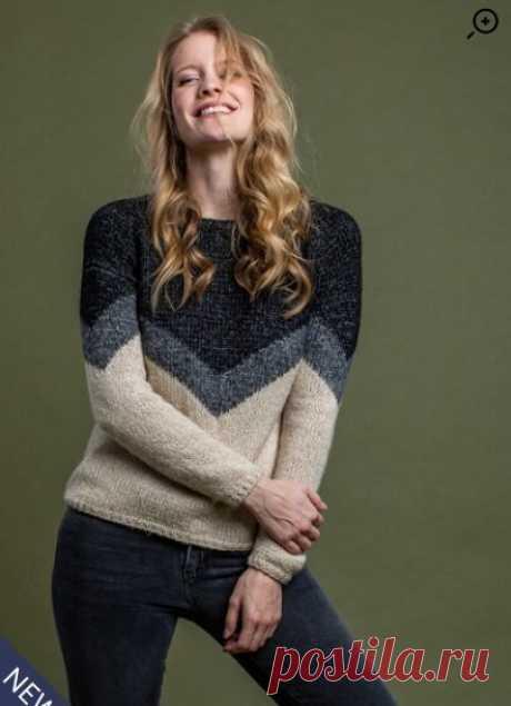 Подборка стильных пуловеров спицами: 16 проектов | Вязание и другие виды рукоделия | Яндекс Дзен