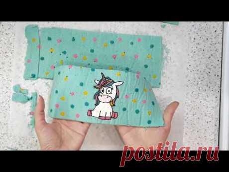 Бисквит с рисунком/ Patterned sponge cake