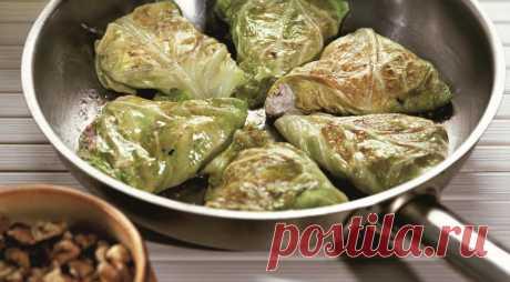 Приготовьте на обед: капустные конвертики — Вкусные рецепты