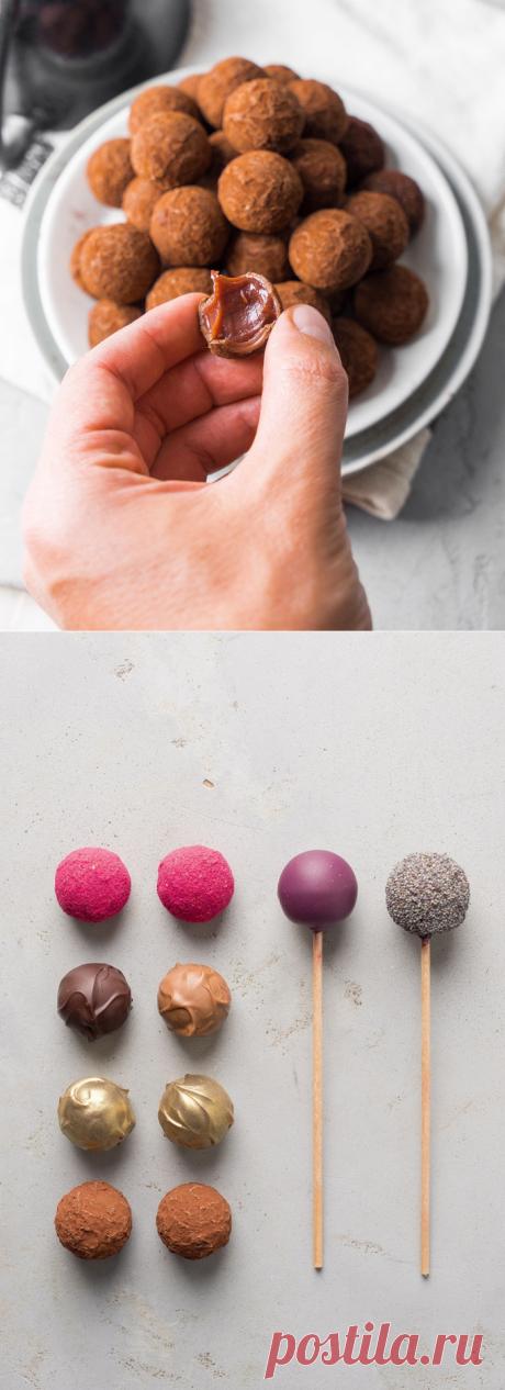 Трюфельные конфеты с вишней | Andy Chef (Энди Шеф) — блог о еде и путешествиях, пошаговые рецепты, интернет-магазин для кондитеров |