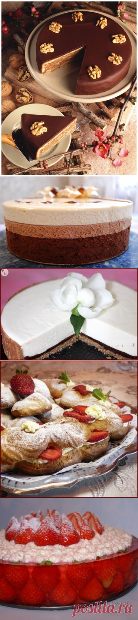Что-то тортика захотелось необычного, вот нашла ок. 30 рецептов!