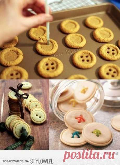 печеньки-пуговки