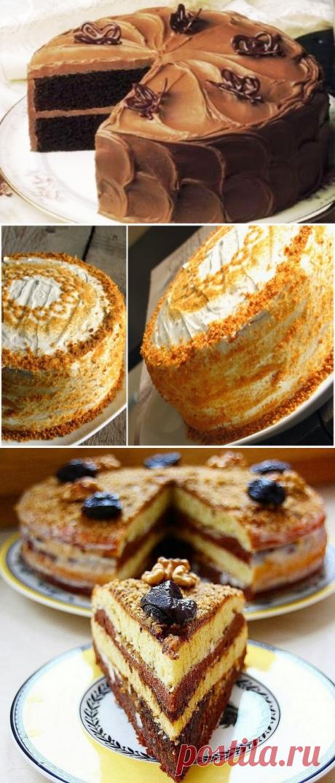 Три обалденных тортика!