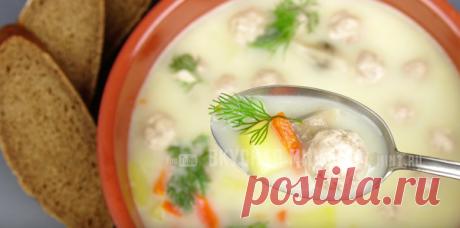 Сырный суп. Мой любимый и самый простой рецепт. Всегда выходит бесподобным | Кухня наизнанку | Яндекс Дзен