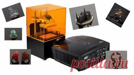 Фигурки, напечатанные на 3D-принтере. При создании миниатюр главное – тщательно и достоверно воссоздать все детали предмета. Однако сегодня эта задача уже не кажется такой сложной, как раньше. 3D-принтер Solus DLP, представленный на рынок компанией Junction3D, способен с поразительной точностью напечатать мельчайшие детали.