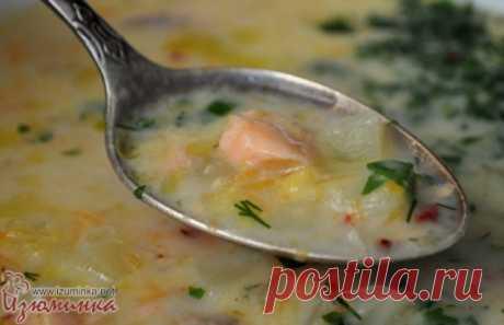 Вкусный суп из форели - зимний вариант
