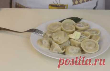 Домашние пельмени - получаются очень вкусными. 5 простых рецептов