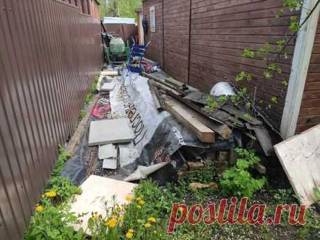 Собрал самый простой стол для сада в деревне   Реконструкция деревенского дома   Яндекс Дзен