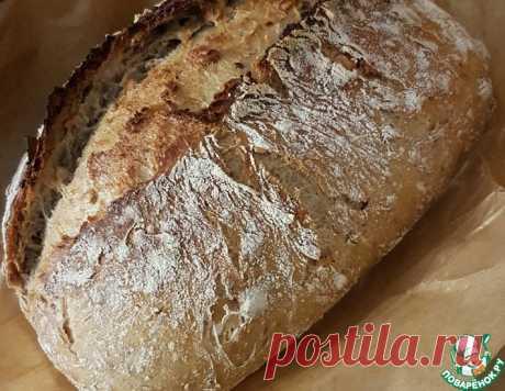 """Хлеб """"Рустик"""" – кулинарный рецепт"""