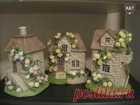 Чудесные сказочные домики своими руками