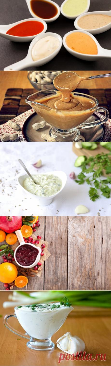 >5 необычных соусов для салатов