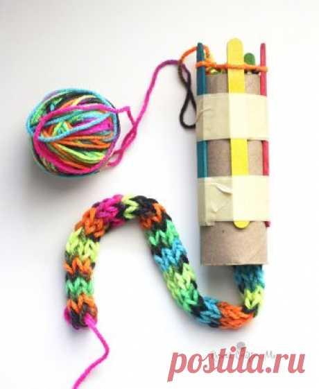 Устройство для кругового вязания (Diy) Модная одежда и дизайн интерьера своими руками