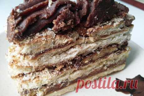Торт без выпечки из печенья рецепт с фото пошагово кофе с шоколадом Друзья, сегодня будем готовить вкуснейший торт без выпечки из печенья. Хочу представить вашему вниманию кулинарный рецепт торта без выпечки, который носит романтическое название «Кофе с шоколадом». Давайте рассмотрим, как приготовить торт без выпечки из печенья «Кофе с шоколадом»…