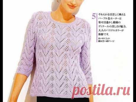 Супер нежный шелковистый джемпер от японских мастериц
