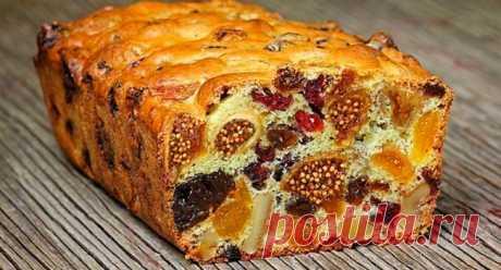 Кекс с сухофруктами | Быстро и Вкусно