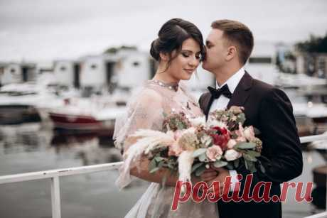 Атмосферная свадьба в яхт-клубе 😍