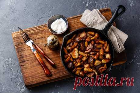 Рецепты звёзд: картошку сгрибами готовит Мария Куликова