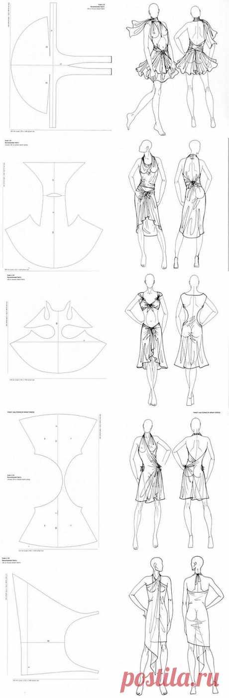 На пляж / Простые выкройки / Модный сайт о стильной переделке одежды и интерьера