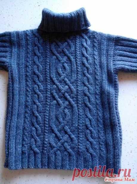Свитер для мальчика - Вязание - Страна Мам