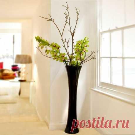 Напольные вазы: простой и стильный элемент интерьера   Роскошь и уют