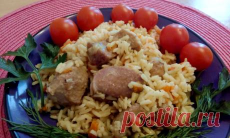 Плов из индейки, рецепт с фото пошагово / Простые рецепты