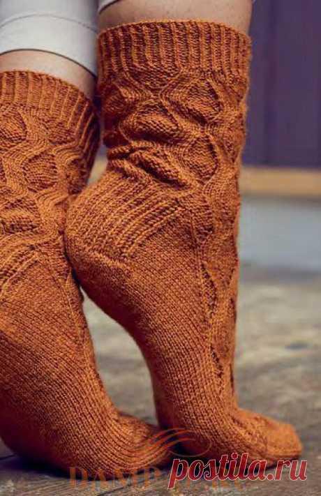 Вязаные носки «Lynda» — HandMade