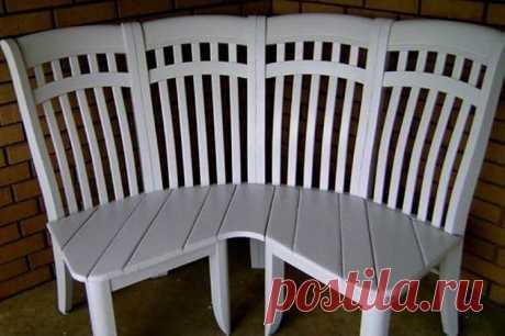А вы и представить не могли, что такое можно сделать из старого бабушкиного стула? Фантастика! — Жизнь под Лампой!