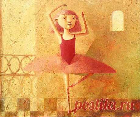 Наивная живопись Светланы Румак — Look At Me