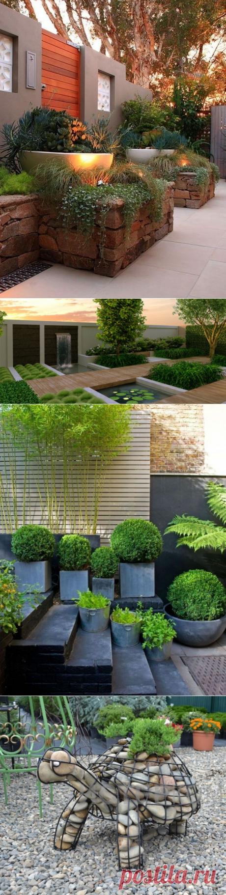 Стиль хай-тек в ландшафтном дизайне ⋆ DomaStroika.com