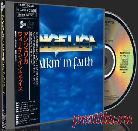 Angelica - Walkin' In Faith 1990 (Japanese Pressing) (Lossless+MP3)