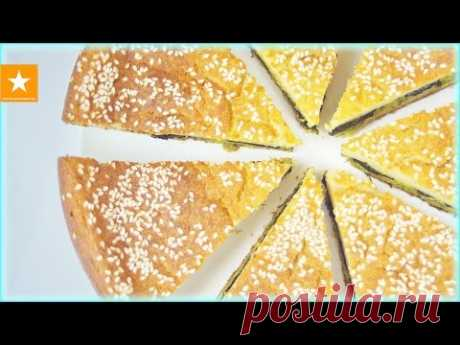 JELLIED CABBAGE PIE from the Marmalade Fox. The FAST RECIPE WITHOUT EGGS - YouTube