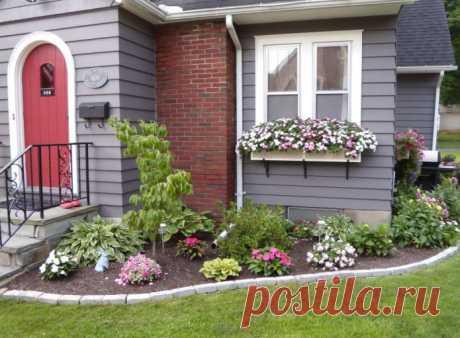 Как лучше обустроить двор частного дома? – 12 уютных и практичных идей для ценителей комфорта (27 фото)