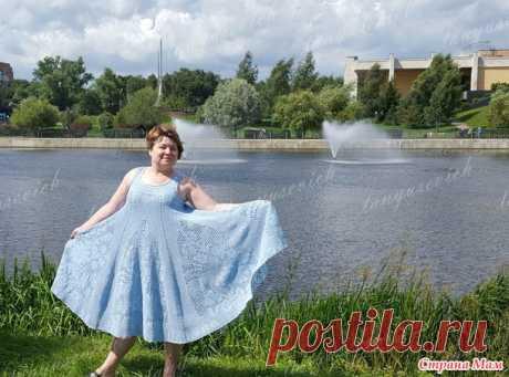 Цветочная фея: сарафан - Вязание - Страна Мам