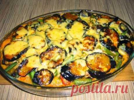 """Запеканка """" Мусака""""по рецепту моей греческой подруги Легкий и полезный ужин! На 100 грамм всего 62 ккал!"""