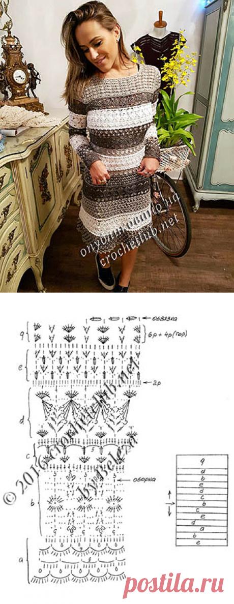 Новое платье Ванессы Монторо - Вязание Крючком. Блог Настика