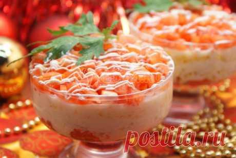 Салат с красной рыбой – Рецепт с фото. Рецепты. Салаты. Салаты с рыбой и морепродуктами