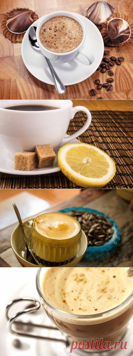 6 recetas del café, para que apetece serse dormido