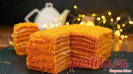 Торт «Карамелька» всего за 30 минут! Быстрый домашний торт без возни с коржами - Страна Мам