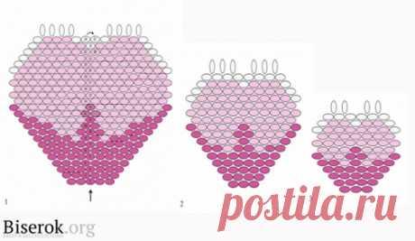 «Розовый браслет» / Браслеты / Biserok.org