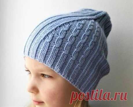 3 универсальные стильные шапки спицами (с описанием)   Идеи рукоделия   Яндекс Дзен