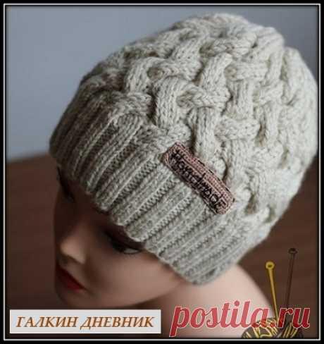 ГАЛКИН ДНЕВНИК : Как связать шапку спицами