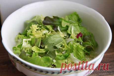 Рецепты салатов из зеленого Салата | Я тебя съем | Яндекс Дзен
