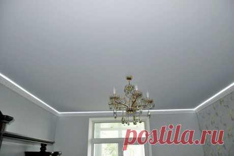 Натяжные потолки - 200 фото потолков в интерьере кухни, спальни и гостиной