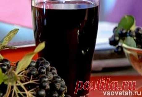 Вино из черноплодной рябины | Еда и вино