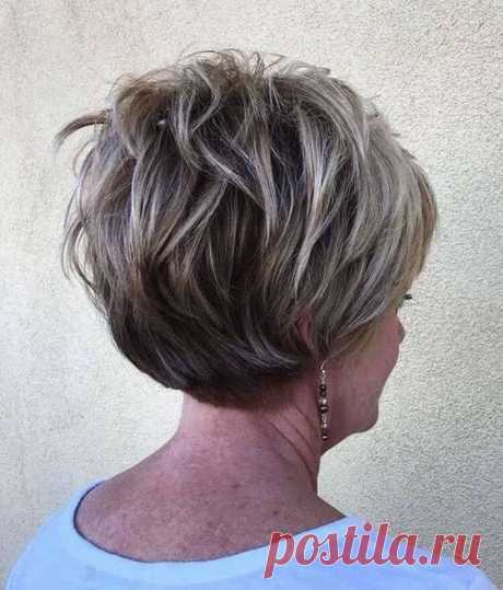 Стильные варианты стрижек на средние волосы для женщин после 50 — Мир интересного